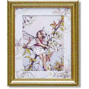 シシリーメアリーバーカー・フラワーフェアリーズ・ワイルドチェリーブロッサムフェアリー(アート・複製画) art1