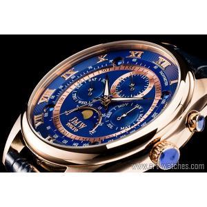 【JMW TOKYO】ブルー&ゴールド上級「ムーンフェイズ 」本革ベルトローマ数字インデックス100m防水タキメーター腕時計【世界限定300本】|art1watches