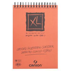 クロッキーブック キャンソンXL A4(297×210mm) 787-103 90g/m2 120枚【maruman/マルマン】[DM便不可]|artandpaperm