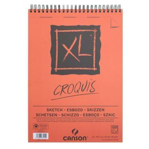 クロッキーブック キャンソンXL A3(420×297mm) 787-115 90g/m2 120枚【maruman/マルマン】[DM便不可]|artandpaperm