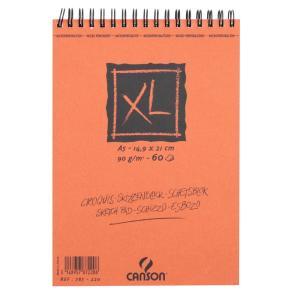 クロッキーブック キャンソンXL A5(210×148mm) 787-220 90g/m2 60枚【maruman/マルマン】[DM便不可]|artandpaperm