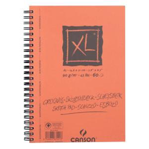 クロッキーブック キャンソンXL A5(210×148mm) 787-221 90g/m2 60枚【maruman/マルマン】[DM便不可]|artandpaperm