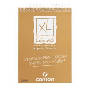 クロッキーブック キャンソンXL エキストラホワイト A4(297×210mm) 787-500 90g/m2 120枚【maruman/マルマン】[DM便不可]|artandpaperm