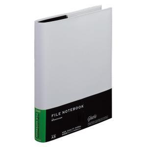 名入れ無料 メタルバインダー ファイルノート ジウリス A5 20穴 ホワイト F289A-06  (DM便不可) maruman|artandpaperm