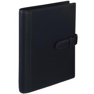 名入れ・ラッピング無料! マルマン ジウリスファイルノート 革製表紙 A5 20穴 ブラック F35-05  (DM便不可) maruman|artandpaperm