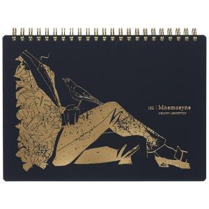 マルマン ノート 限定品 Mnemosyne × Creators コーマチヤマ A5 N182C6 (DM便1)maruman|artandpaperm