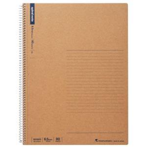 マルマン スパイラルノート A4 6.5mm罫 80枚  N235ES[DM便2](旧メール便) artandpaperm