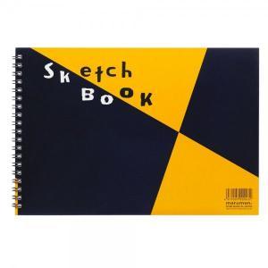 マルマンスケッチブック 図案シリーズ B5(172×250mm) 画用紙並口 24枚  S140 (DM便不可) maruman|artandpaperm