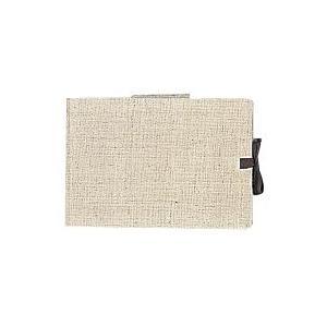 スケッチブック 麻表紙シリーズ B6 クリームコットン紙 60.g/m2 80枚 S93 【maruman/マルマン】[DM便不可]|artandpaperm