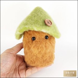 羊毛フェルト 森の住人 ぬいぐるみ 人形 ハンドメイド 一点物 artboxkyoto