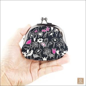 がま口財布 コインケース 小銭入れ 小物入れ 和柄 ハンドメイド|artboxkyoto