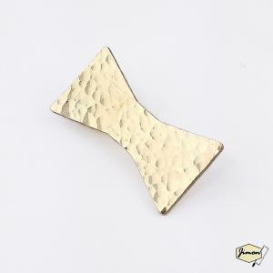 真鍮ブローチ リボン ブラスアクセサリー レディース ハンドメイド|artboxkyoto