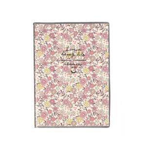 クツワ SH973C 小花・ピンク カラーインデックス手帳A6 2020年ダイアリー