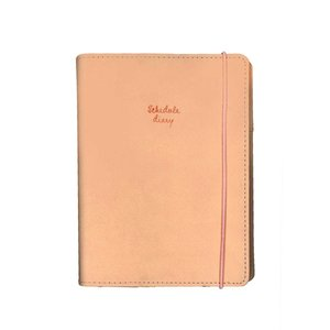 クツワ SH992 桃花・ピンク 限定生産 カラーインデックス手帳A6 2020年ダイアリー
