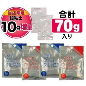 銀粘土 アートクレイシルバー30g(5g増量)×2個セット  / 純銀粘土 手作り シルバー アクセサリー クレイ 通販|artclaytsuhan