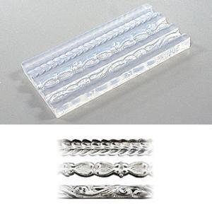 リングが作れる透明型のモールドです。透明型なので、粘土の詰め具合も確認しやすく、作品の完成度が高まり...