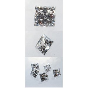 合成石SWホワイトジルコン SQ 4×4(5ヶ)|artclaytsuhan