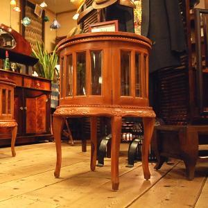 ラウンドティーテーブル・・・チーク・オリジナル家具・インドネシア直輸入 artcrew