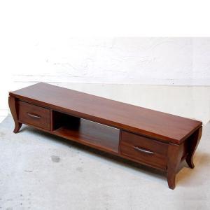 TVラック1500・TV Cabinet・テレビ台・・・チーク無垢材・オリジナル家具・インドネシア直輸入|artcrew
