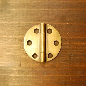 ブラス蝶番352 ヒンジ 真鍮・・・インドネシア直輸入・インテリアパーツ・古色仕上げ|artcrew
