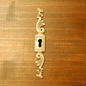 ブラス鍵穴402 真鍮金具・・・インドネシア直輸入・インテリアパーツ・古色仕上げ|artcrew