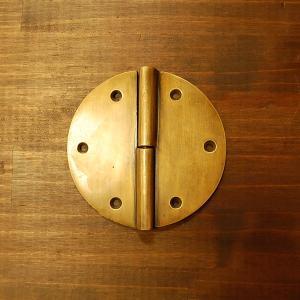 ブラス蝶番431-1 ヒンジ 真鍮・・・インドネシア直輸入・インテリアパーツ・古色仕上げ|artcrew