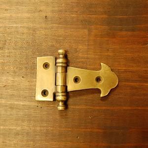 ブラス蝶番471 ヒンジ 真鍮・・・インドネシア直輸入・インテリアパーツ・古色仕上げ|artcrew