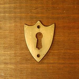 ブラス鍵穴525 真鍮金具・・・インドネシア直輸入・インテリアパーツ・古色仕上げ|artcrew