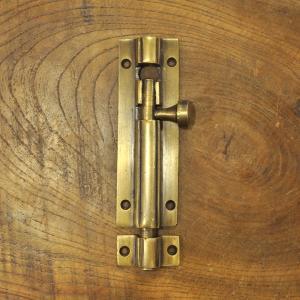 ブラス錠前610 真鍮金具 フランス落とし インドネシア直輸入 インテリアパーツ 家具部品 アンティーク仕上げ 古色仕上げ DIY |artcrew