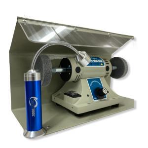 EUROTOOL 小型バフモーター 防塵フード LEDライト セット|artechjp