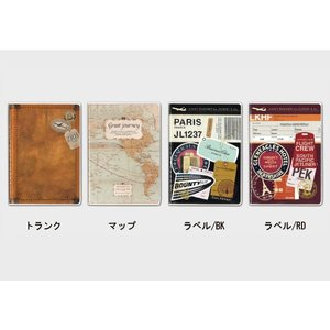 手帳(日付書き込み式)/B6サイズ・ブロックタイプ/フリーダイアリー FD-トラベル /m/|artemis-webshop-2