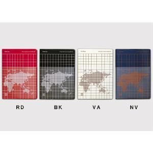 手帳(日付書き込み式)/B6サイズ・ブロックタイプ/フリーダイアリー FD-ワールドマップ(FDWM-150)  /m/|artemis-webshop-2
