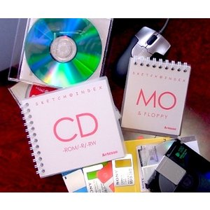 スケッチブックMO カラーコットン紙5色×各5枚=25枚綴り|artesse-store