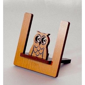 ペーパースタンドイーゼル ふくろうのアウル  書類立て カード立て|artesse-store