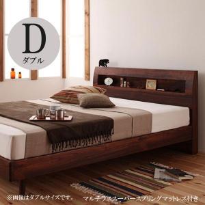 すのこベッド スノコベッド ダブル ダブルベッド ベッド ダブル ベッド マルチラススーパースプリングマットレス付き ダブル 格安 安い おしゃれ おすすめ 人気|artevida-shop