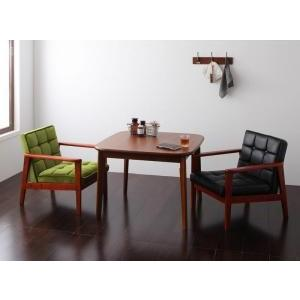 ソファー ダイニングテーブルセット ダイニング 3点セット Bタイプ(テーブルW90cm+1Pソファ×2) 格安 安い おしゃれ おすすめ 人気|artevida-shop