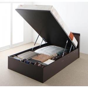 ベッド 安い 収納ベッド おすすめ ベッド 薄型スタンダードポケットコイルマットレス付き 縦開き セミシングル ラージ 格安 安い おしゃれ おすすめ 人気 artevida-shop