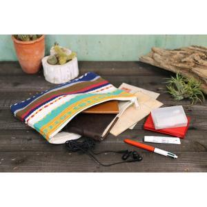 カラフルハセーナ ポーチ       レディースファッション   バッグ   セカンドバッグ、ポーチ  アジアン雑貨