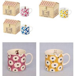 SALE 木箱入り花柄マグ ムーミン       キッチン、生活雑貨、日用品  食器、カトラリー  コーヒー、ティー  マグカップ