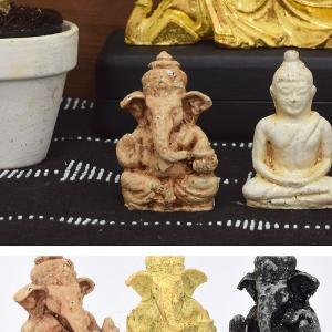 インド、ヒンドゥー教の一柱・・・ガネーシャ神  金運をもたらす事業開始、商業の神   また、智慧、学...
