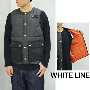【WHITE LINE|ホワイトライン メンズ】【セール40%OFF】WL HUNTING VEST/WLJ-3105*BR#GH*|arthur