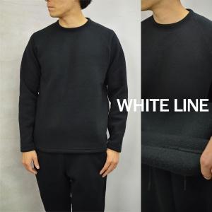 【WHITE LINE|ホワイトライン メンズ】【セール40%OFF】WL CREW KNIT FLEECE/WLC-3102*CL#GH*|arthur