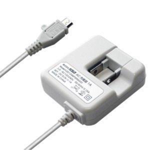 カシムラ AC充電器 ストレート1m 1A micro WH スマートフォン 家庭用 100V〜240V対応 海外仕様可能 ホワイト AJ-443|articlestore