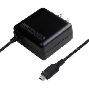 カシムラ AC充電器ストレート1m 2.4A micro STRONG BK 家庭用AC電源 microUSB ブラック 海外使用可 100V〜240V AJ-522|articlestore