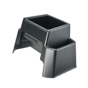 カーメイト ゴミ箱 ノア・ヴォクシー用 車種専用設計 インテリアにマッチ センターコンソールとしても 足元を有効活用 NZ548|articlestore