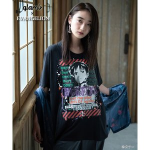 glamb グラム 半袖 Tシャツ tシャツ EVANGELION Shinji T gb0220 ...