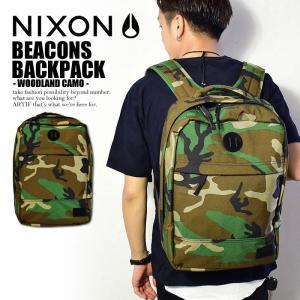 バックパック 鞄 ニクソン NIXON BEACONS BACKPACK -WOODLAND CAM...