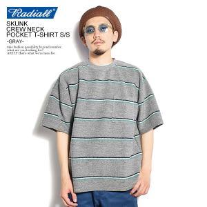 ラディアル Tシャツ RADIALL SKUNK - C.N.P. T-SHIRT S/S -GRA...