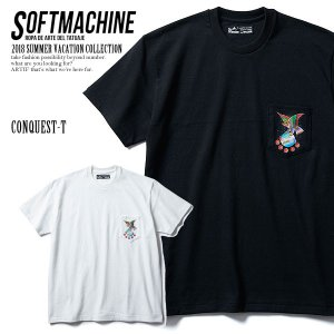 SOFTMACHINE ソフトマシーン CONQUEST-T(T-SHIRTS) MATERIAL ...