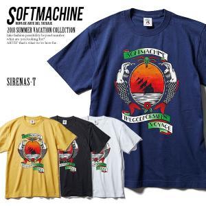 SOFTMACHINE ソフトマシーン SIRENAS-T(T-SHIRTS) MATERIAL :...